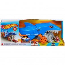 Автовоз Hot Wheels Голодная акула с хранилищем для машинок GVG36