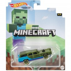 Машинка Hot Wheels Minecraft Зомби GYB70