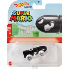 Машинка Hot Wheels Super Mario Пуля Билл GYB64