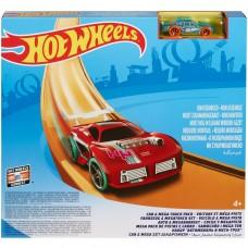 Набор Hot Wheels Автомобиль и мега-трек FTL69