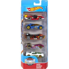 Набор машинок Hot Wheels 5 шт Super Ultimate Garage DVF99