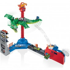 Трек Hot Wheels Воздушная атака дракона-робота GJL13