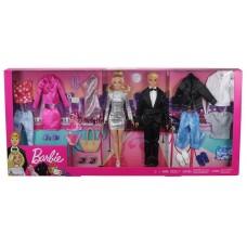 Набор Barbie Куклы с модной одеждой и аксессуарами, GHT40