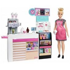 Набор игровой Barbie Кофейня GMW03