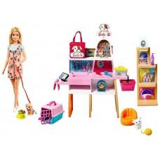 Кукла Barbie Зоосалон, GRG90