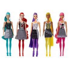 Кукла Barbie В2 Color Reveal Monochrome Doll Сюрприз с аксессуарами GTR94