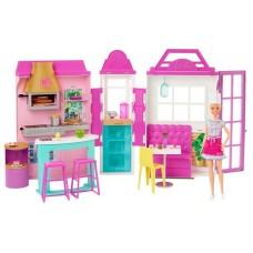 Набор игровой Barbie Гриль-ресторан с куклой, HBB91