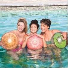 Мяч пляжный, Фрукты, 46 см, три вида