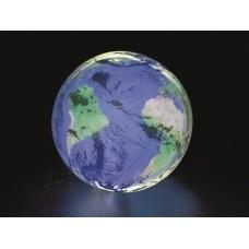 Мяч надувной с подсветкой, Земля, 61 см