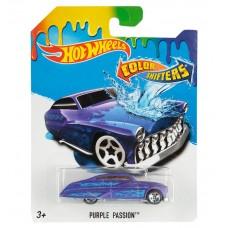 Машинка меняющая цвет Hot Wheels PURPLE PASSION