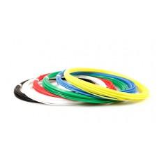 Набор пластика для 3D ручек: UNID KID-6 (по 10м. 6 цветов в коробке)