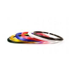 Набор пластика для 3D ручек: UNID PRO-6 (по 10м. 6 цветов в коробке)