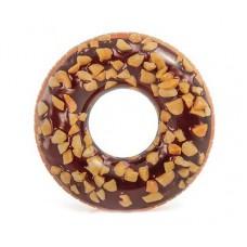 """Надувной круг """"Шоколадный пончик"""" Intex 56262"""