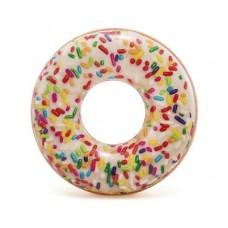 """Надувной круг """"Пончик с присыпкой"""" Intex 56263"""