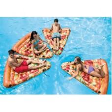 "Пляжный матрас ""Пицца"" Intex 58752"