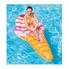 """Пляжный матрас """"Мороженое в рожке"""" Intex 58762"""