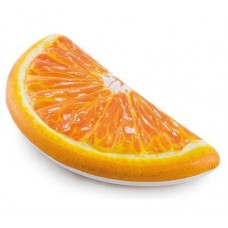"""Пляжный матрас """"Апельсин"""" Intex 58763"""