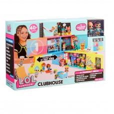 Клубный дом для кукол LOL Surprise ClubHouse 40+ сюрпризов, 569404