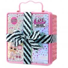LOL Surprise Deluxe Present Surprise Розовая коробка