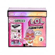 Игровой набор MGA Entertainment LOL Surprise Furniture Music Festival with Grunge Grrrl, 564935