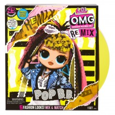 Кукла L.O.L. Surprise! O.M.G. Remix Pop B.B. Fashion Doll, 567257