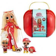 Кукла Swag O.M.G.(560548) с семьей в чемодане LOL surprise Swag Family + 45 сюрпризов 422099
