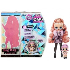 Игровой набор O.M.G. Winter Chill Big Wig Fashion Doll & Madame Queen Doll with 25 Surprises 27 см, 570264