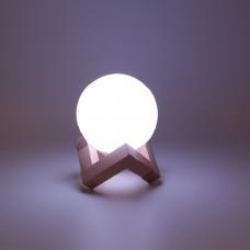 """Лампа-ночник """"Луна мини"""" (3 цвета) с тактильным управлением"""