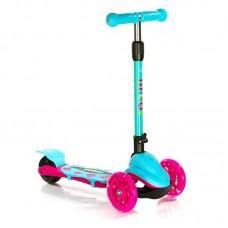 Самокат Scooter Mini Micar Zumba Розово-голубой